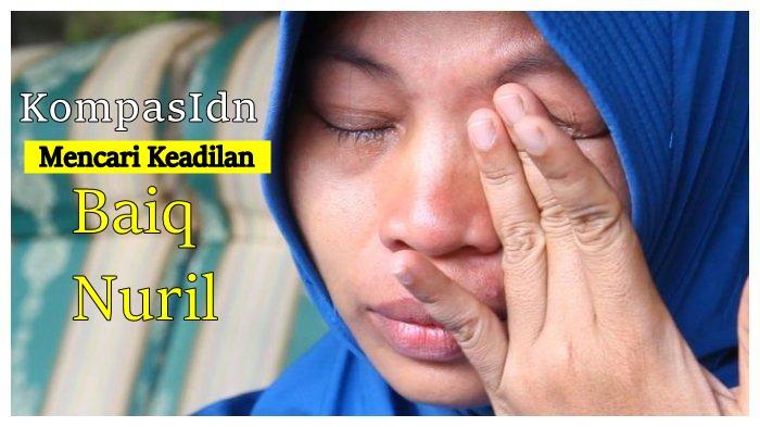 Sambangi Menkumham Hingga Kepala Staf Presiden, Baiq Nuril Mencari Keadilan