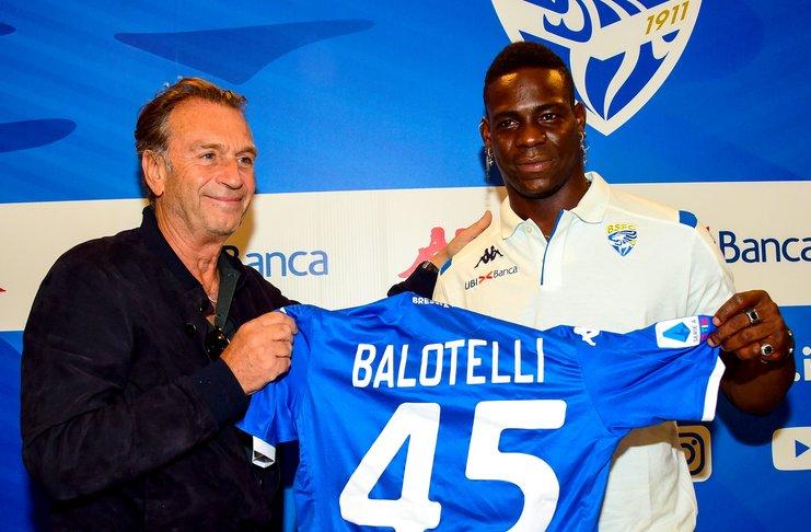 Mario Balotelli Menjadi Idola Baru Di Brescia, Tiket Musiman Laku Keras