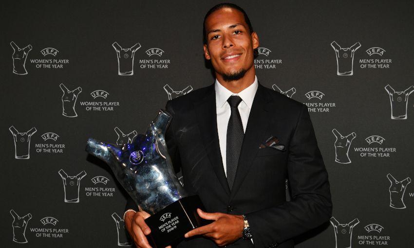 Van Dijk Di Nobatkan Menjadi Pemain Terbaik Eropa