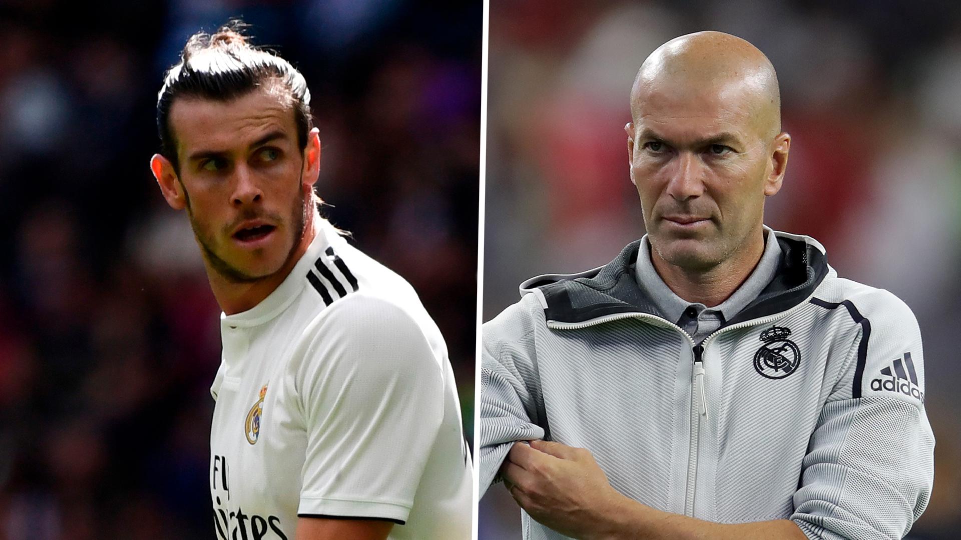 Zidane Pastikan Posisi Gareth Bale Aman Dalam Tim