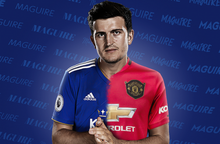 Welcome To Manchester United Harry Maguire