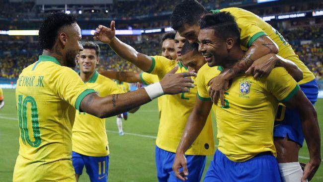 Neymar Selamatkan Brasil Dari Kekalahan Melawan Kolombia