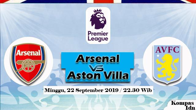 Arsenal Akan Merotasi Pemainnya Saat Menjamu Aston Villa
